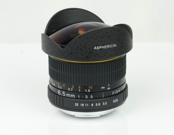 Kelda 6.5mm f3.5 Aspherical Circular Ultra Fisheye Lens for APS-C DSLR - NIKON