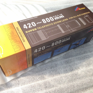 Kelda 420- 800mm f/8.3 – 16 Super Telephoto Zoom Lens