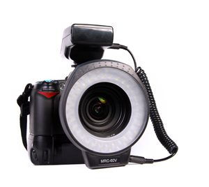 Seagull MRC-80+ Macro LED Ringflash and Continuous Video Light