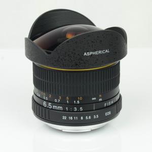 Kelda 6.5mm f3.5 Aspherical Circular Ultra Fisheye Lens for APS-C DSLR - CANON