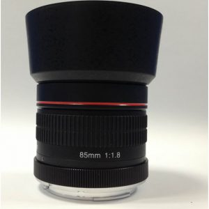 Kelda 85mm f1.8-22 Manual Focus Portrait Lens for APS DSLR - CANON